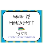 FREE - Math Measurement Grab It! Center