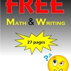 FREE Math and Writing