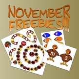 FREE! November Board Game and Bulletin Board Activity