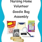 FREE Nursing Home Volunteer Assembly Task