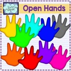 {FREE} Open hands clipart