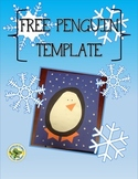 FREE Penguin Craft Template