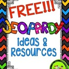FREE!!!! Printable Jeopardy Ideas & Resources