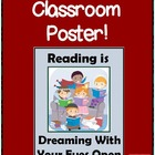 FREE Reading is Dreaming Poster