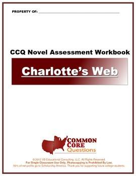 FREE SAMPLE: Charlotte's Web - (abridged) CCQ Novel Study