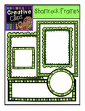 FREE Shamrock Frames {Creative Clips Digital Clipart}