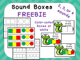 FREE Sound Boxes for Phoneme Segmentation for Preschool  K