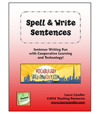 FREE Spell & Write Sentences
