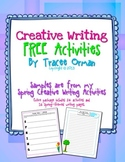 FREE Spring Creative Writing Exercises