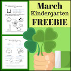 FREE St. Patrick's Day Language Arts packet