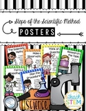 Steps of the Scientific Method Posters Anchor Charts