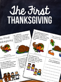FREE! The First Thanksgiving Mini-Book and Reflection / Cl
