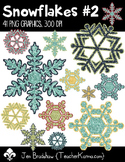 Snowflakes #2 Clip Art ~ Commercial Use OK ~ Winter