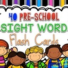 Free Download - Pre-School Sight Words Resource from Ms. L