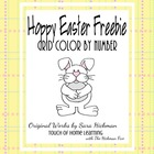 Color by Number Grids for Easter