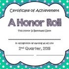 FREEBIE- End of 2nd Qtr Certificates