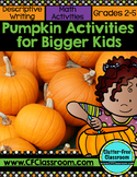 FREEBIE: Pumpkin Activities for Bigger Kids {Math and Writing}