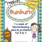 *FREEBIE* Summer Poem & Printables w/ Shared Reading Plans