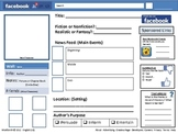 FaceBook Profile Book Report