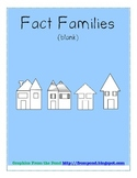 Fact Families BLANK