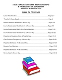 Fact Families & Properties of Equations (Add) - Math Lesso
