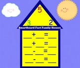 Fact Families- Smartboard Houses