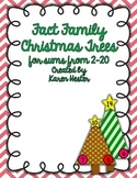 Fact Family Christmas Trees 2-20