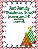 Fact Family Christmas Trees 2-20