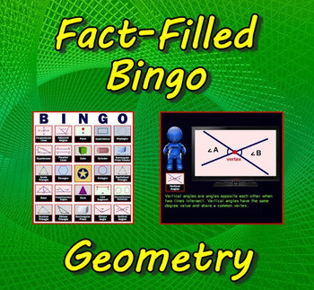 Fact-Filled Bingo - Geometry