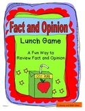 Fact and Opinion Lunch