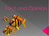 Fact and Opinion PowerPoint lesson and Interactive Notebook