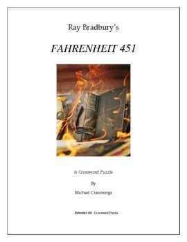 Fahrenheit 451 Two Crossword Puzzles