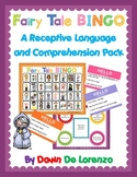 Fairy Tale BINGO {Receptive Language & Comprehension}