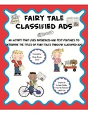 Fairy Tale Classified Ads Activity