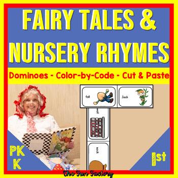 Fairy Tale and Nursery Rhyme Rhyming Dominoes
