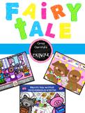 Fairytale Bundle-3 little pigs, Goldilocks, and Gingerbread Man