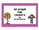 Fall 1st Grade Reading and Math Centers