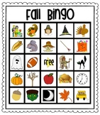 Fall Bingo For Kids