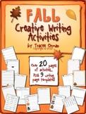 Fall Creative Writing Activities & Handouts