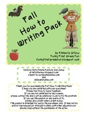 Fall How To Writing Pack