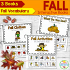 Fall Interactive Books