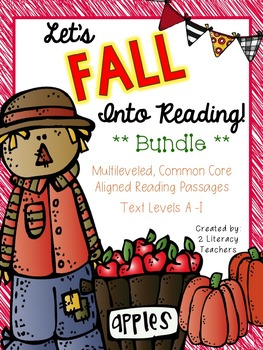 Fall Into Reading: CCSS Aligned Leveled Reading Passages a