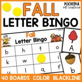 Fall Letter Bingo