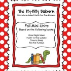 Fall Literature-based Unit:  Goodnight Moon, Ten Fat Turkeys....