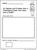 Fall Math Addition Story Problems