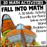 Fall Math Craftivity Bundle