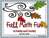 Math Centers - Fall Math Fun