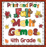 Fall Math: 4th Grade