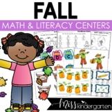 Fall Math and Literacy Centers {Bundled}