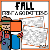 Fall Printable Patterns Packet {Pumpkins, Leaves & More}